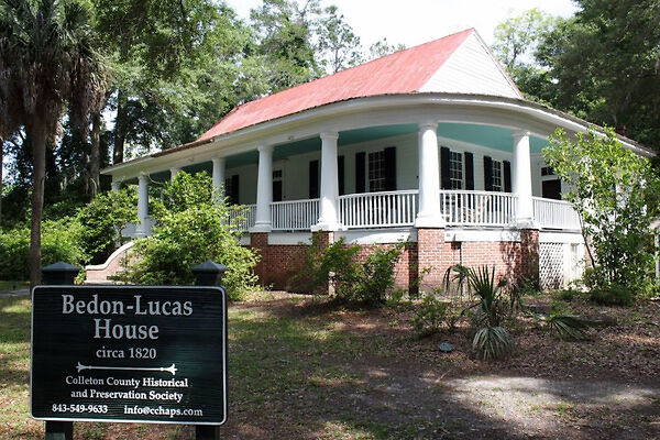 One of the original houses in Walterboro