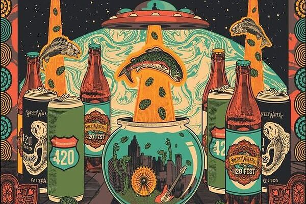 Celebrating the Sweetwater 420 fest