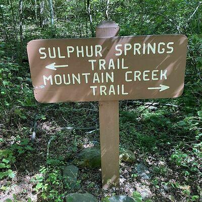 Sulphur Springs trail head