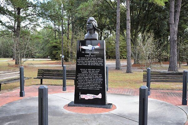 Can I visit the Tuskegee Airmen Monument?