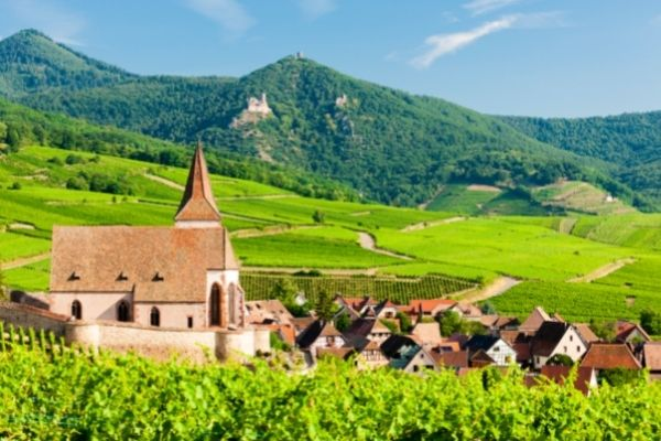 Alsace is an historic area tucked away in eastern France